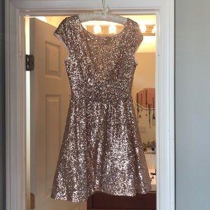 Sparkly evening dress